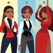 Carmen 2019 - 3 outfits