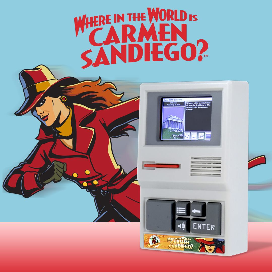Carmen Sandiego Handheld Electronic Game
