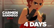 Carmen Sandiego Season 2 4 days