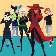 Carmen Sandiego female antagonists