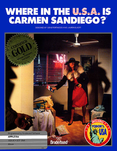 Where in the U.S.A. is Carmen Sandiego? (1986)