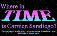 WiTiCS1989 - Title Screen - DOS. - CGA