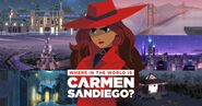 Where is Carmen Sandiego 2019 backgrounds