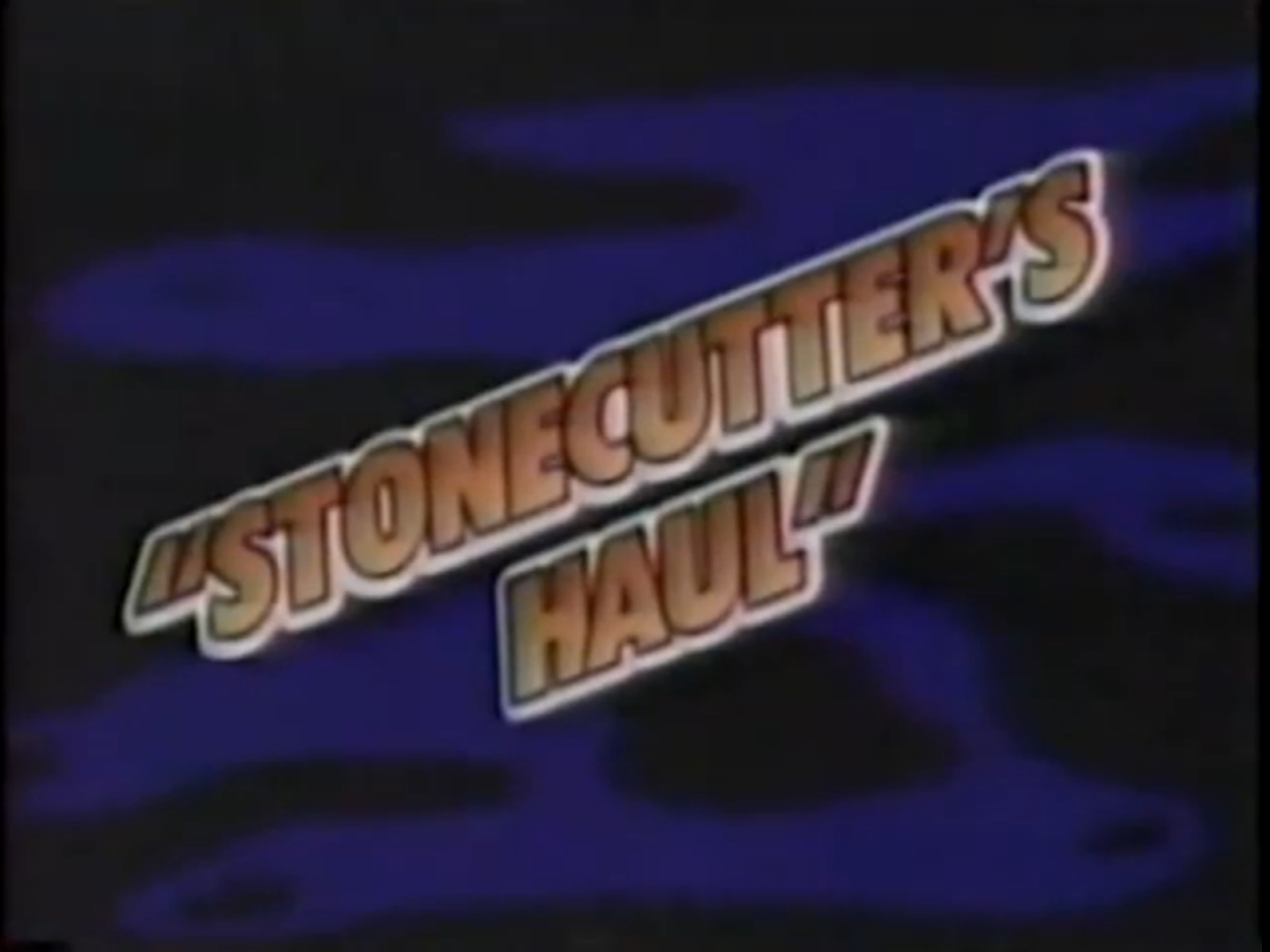 Stonecutter's Haul