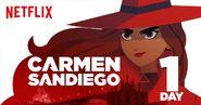Carmen Sandiego 1 day