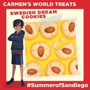 Summer of Sandiego - Swedish Dream Cookies