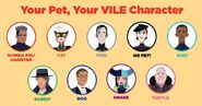 Your Pet, Your Vile Character