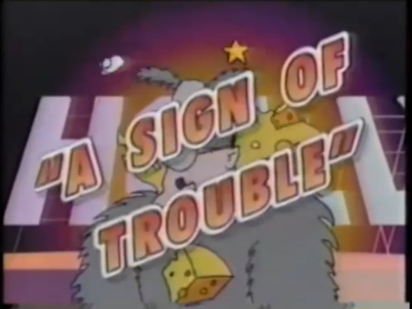 A Sign of Trouble