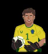 The Keys to the Kremlin Caper - Goalie - Rio
