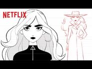 How to Draw Carmen Sandiego 🖍️ Netflix Futures