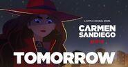Carmen Sandiego Season 3 Promo Tomorrow