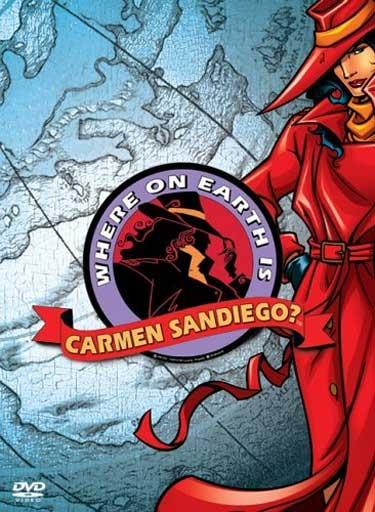 Where on Earth is Carmen Sandiego?