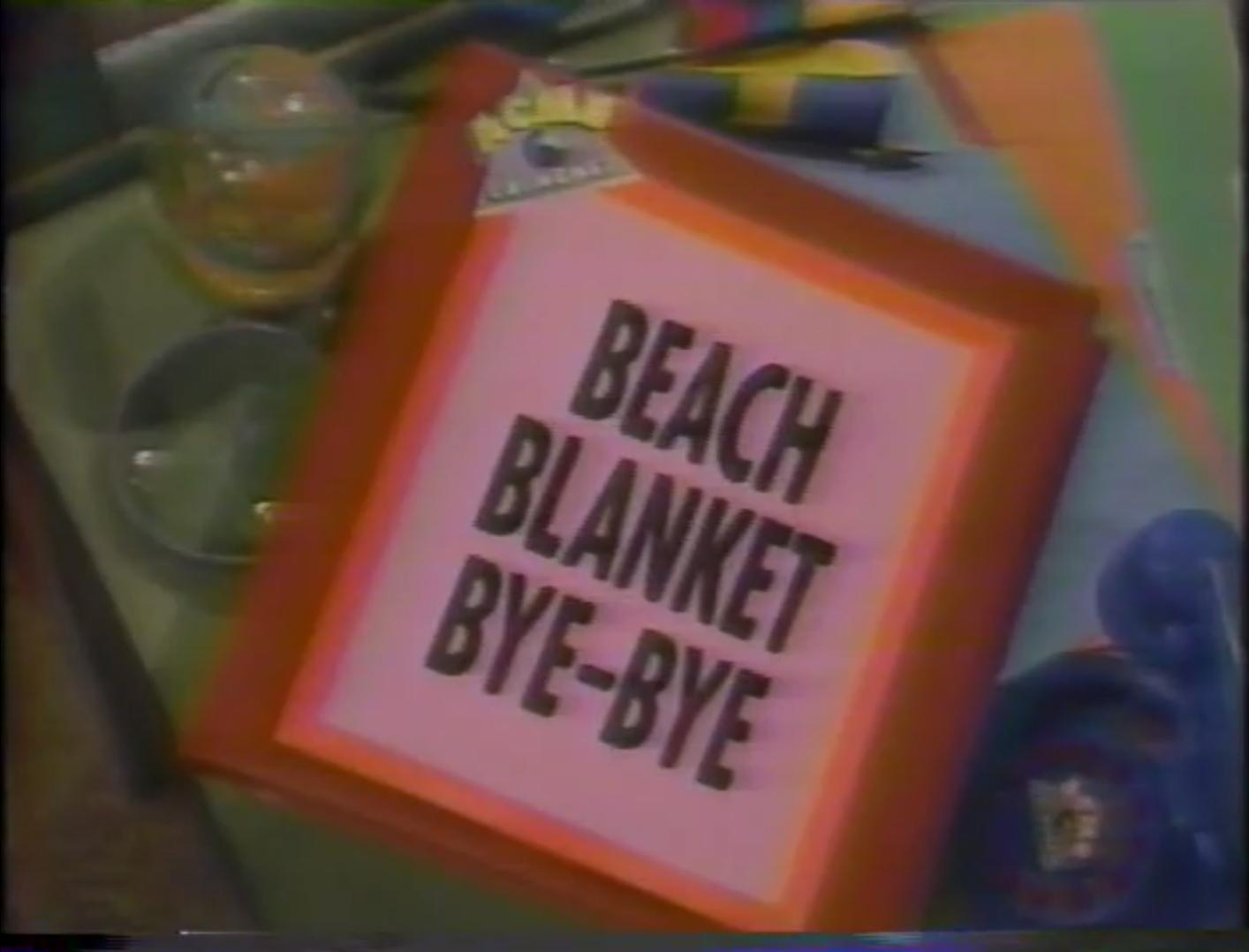 Beach Blanket Bye-Bye