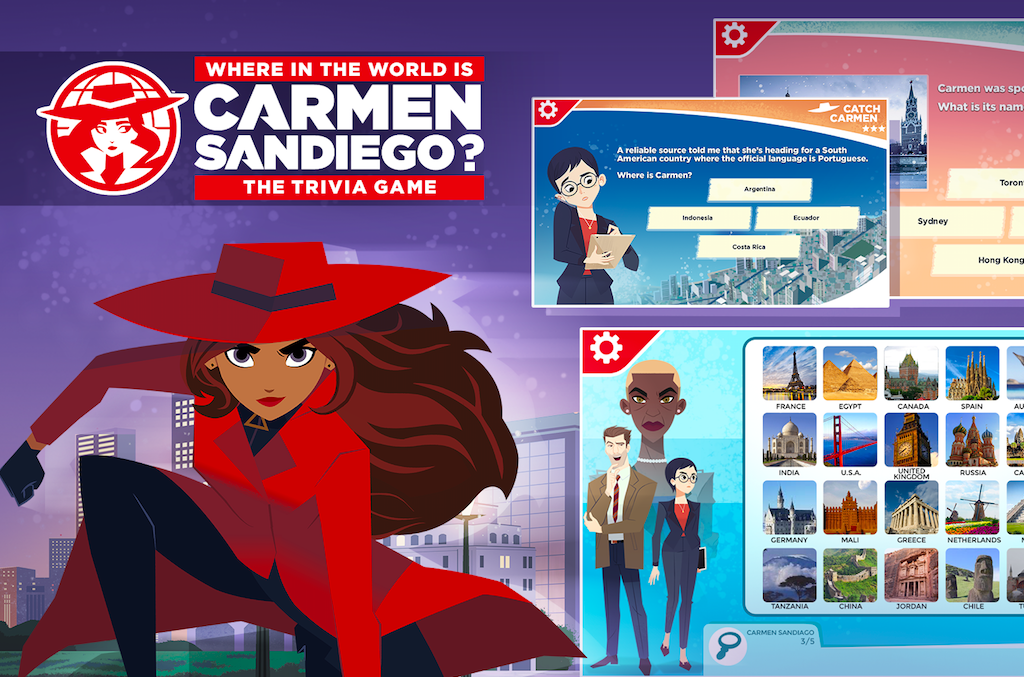 Carmen Sandiego World Trivia