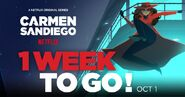 Carmen Sandiego 2019 Season 2 promo 1 week