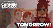 Carmen Sandiego 2019 tomorrow