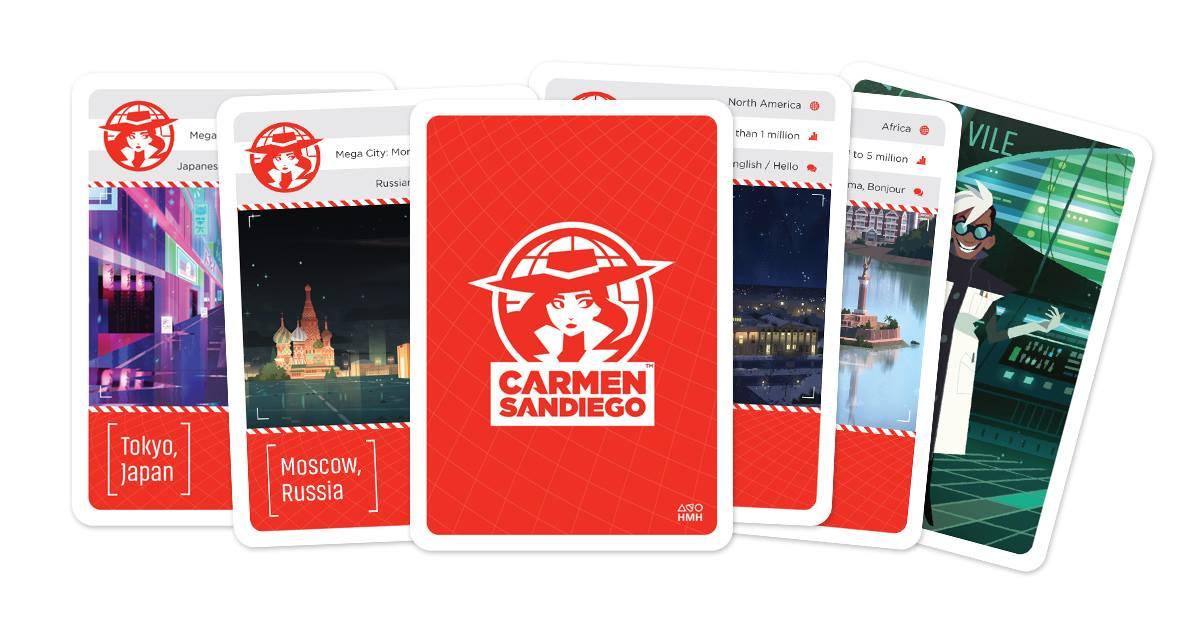 Carmen Sandiego Capitals Card Game
