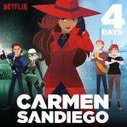 Carmen Sandiego 2019 4 days