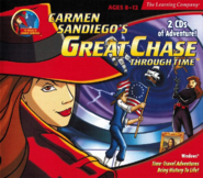 Carmen Sandiego's Great Chase Through Time - alt cover