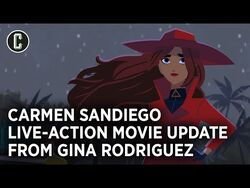 Gina Rodriguez on Carmen Sandiego Live-Action Netflix Film, Teases Franchise Potential