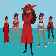 Carmen 2019 all clothing