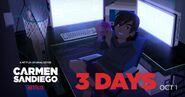 Carmen Sandiego 2019 Season 2 promo - 3 days