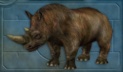 Menu image of Woolly rhinoceros