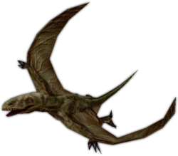 Render of Dimorphodon from Action Forms' website