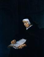 A Praying Nun