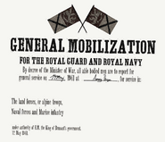 Middleton Mobilization poster, May 1941