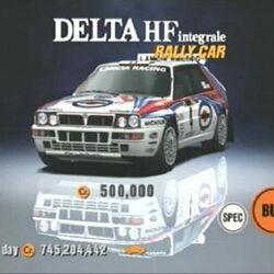 Lancia Delta HF Integrale Rally Car