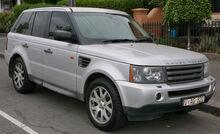 2005 Land Rover Range Rover Sport (L320 MY06) TDV6 wagon (2015-12-07) 01.jpg