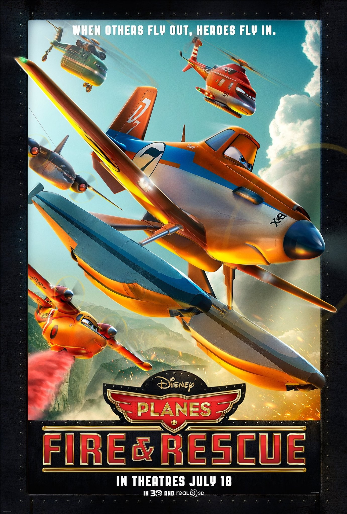 Самолёты: Огонь и вода