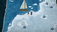 Iceberg arrival