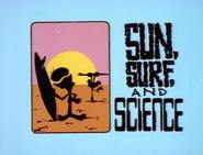 Słońce, surfing i nauka (title card)