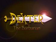 Dexter Barbarzyńca (title card)