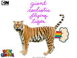 Giant Realistic Flying Tiger (GRFT)