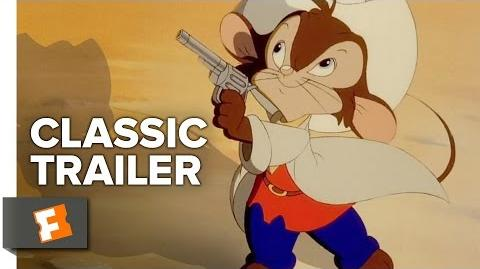 An American Tail Fievel Goes West (1986 1991) Official Trailers Movie HD