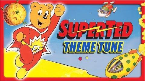 Superted - 1980's TV theme tune (classic children's show)