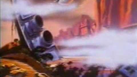Thundarr the Barbarian TV cartoon intro (1980)