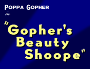 Gopher's Beauty Shoppe Title Card