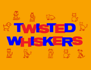 Twisted Whiskers Cartoon Logo 1957-1959