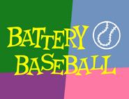 Battery Baseball Title Card