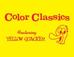 Harold Walker's Color Classics Logo 1957-1960 (Yellow Quacker variant).png