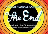 Color Melodies Cartoon Closing Card 1937-1938