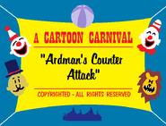 Ardman's Counter Attack (1943) Title Card (Cartoon Carnival reissue)