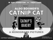 Catnip's Bakery (1935) title card 1