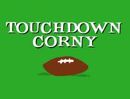 Touchdown Corny Title Card