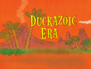 Duckazoic Era Title Card