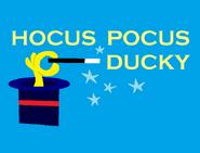 Hocus Pocus Ducky Title Card